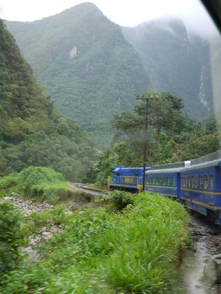 The Vista Dome, train to Machu Picchu