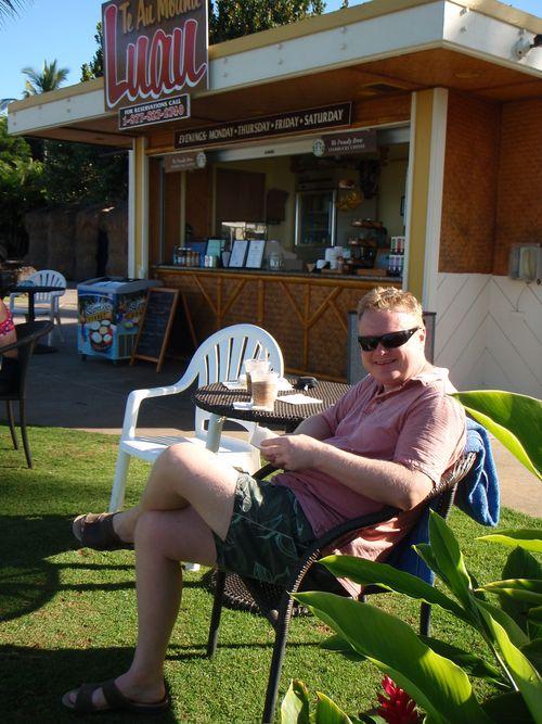 Breakfast at the lau hala cafe