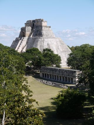 Uxmal , how you imagine a Mayan ruin