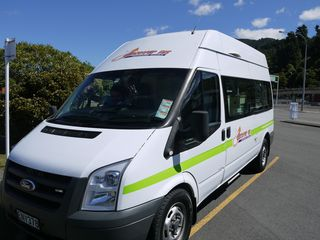Pick up the camper at Picton