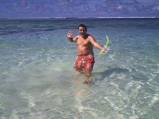 It's snorkel-man