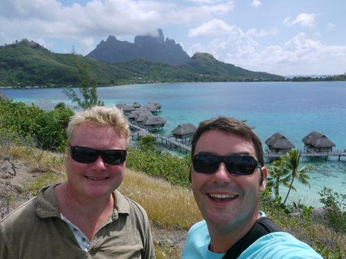 Hello from Bora Bora
