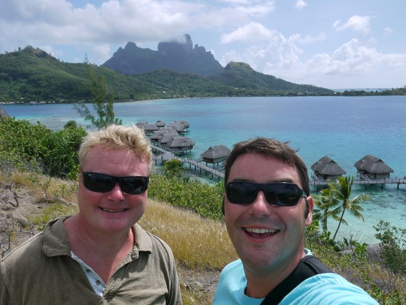 Hello from Bora Bora