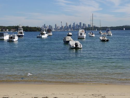 The city from Watson Bay