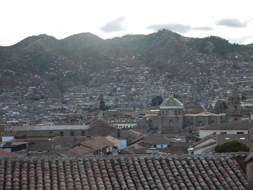 Another view of Cusco from our room
