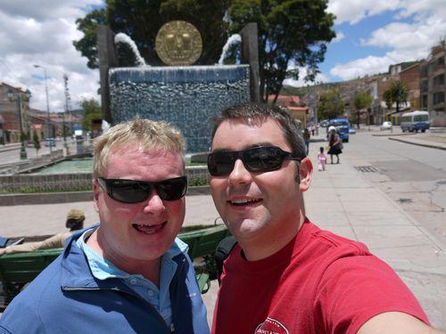 Us in Cusco