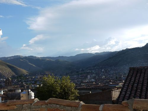 View from room Cusco