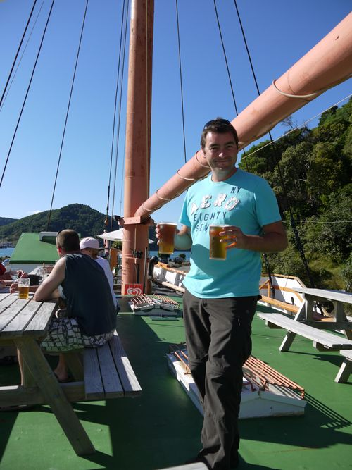 Drinks and dinner  on the Echo Picton
