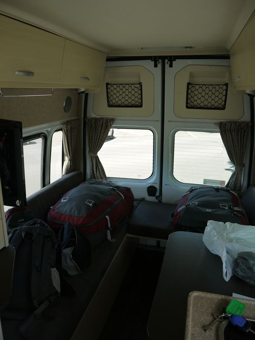 Inside the camper other view